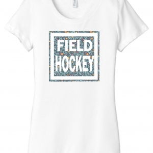 Field Hockey Flower Square
