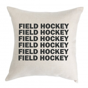 Field Hockey Pillow Cover