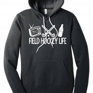 Field Hockey Life Beer Hoodie